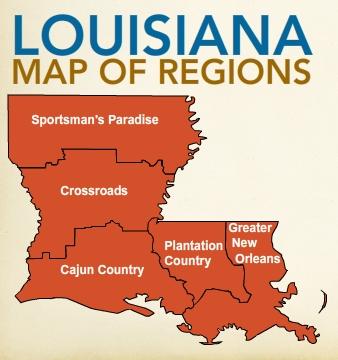 Louisiana39s Dynamic Culture  Regions Of Louisiana
